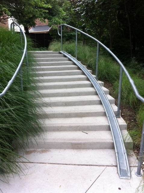 Bike slide at Armstrong